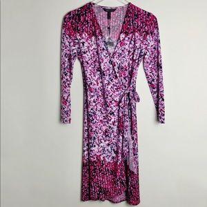 BCBGMaxAzria | Adele Printed Wrap Dress NWT